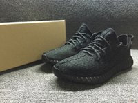 Wholesale Yeezy boost Pirate Black Running Shoes Footwear Sneakers Men And Women Kanye West Yeezy milan Sport Shoes size us