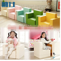 Wholesale Children s sofa combination Cartoon small sofa