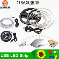advertisement bicycle - USB Power Highlight RGB LED Strip cm SMD DC5V Waterproof Backgroud Lighting bicycle PC TV home decoration