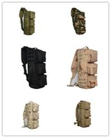 Wholesale 2016 Tactical Assault Go Bag Shoulder Sling Gym Hiking Camping Climbing Bag black Tactical multifunction outdoor camouflage camouflage tot