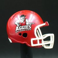 Wholesale Riddell American football Pocket Size Helmet AGGIES No packing