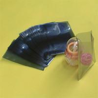 anti static vacuum - 100PCS x25cm top open anti static shielding bag vacuum composite bag half clear plastic packing bags