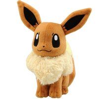 Wholesale 1 PC Pocket Monster Animation EEVEE Rare Soft Plush Toy Doll cm