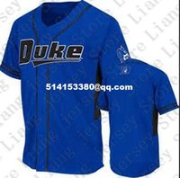 Wholesale Personalized Mens Young Women KidS DUKE BLUE DEVILS Baseball Jersey custom any number any name Blue White Stitched Jerseys