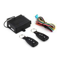 Wholesale Universal Car Auto Remote Central Kit Door Lock Locking Vehicle Keyless Entry System New With Remote Controllers car styling