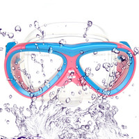 Wholesale Children Kid Diving Mask Goggles Swimming Snorkel Glass Equipment Toughened Tempered Glass Swim Learn Be Careful When Kid Swim