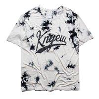 bboy t shirts - KNYEW T Shirt Men Streetwear Hip Hop Rocky BBOY Flower T Shirt Baseball Sport Slim Elastic T Shirts MISBHV NY New York T Shirts