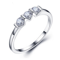 Wholesale Brand New Women s S925 popular Silver Rings Brief and fashion party jewelries ladies beautiful pretty cute tide rings