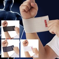 Wholesale fitness cotton strength bandage hand wrist straps sport wristbands support wrist protector carpal tunnel wrist brace gym wraps