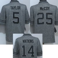 Wholesale Cheap New Sammy Watkins LeSean McCoy Tyrod Taylor Gray Men s Stitched Gridiron Gray Limited Football Jerseys Best Quality