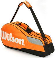 Exercise, Training bats bags - Professional tennis bag Sling bat tote Sport player exercise pc Racquet gym duffel Tennis racket bag