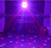 Wholesale The stage lights LED magic crystal ball laser light bar lamp KTV rooms on a rotating lights flash party light
