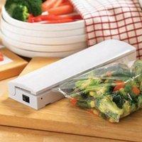 Wholesale 1pcs Hot Sale Vacuum Heat Sealer Sealing Seal Stay Fresh Freezer Food Storage Bag Lunch Kit Vacuum Food Sealer