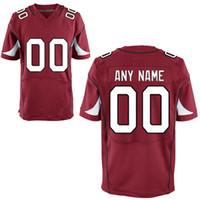 Wholesale Personalized Men s Arizona Cardinal Custom Elite Football Jerseys any name any number Men s Stitched and Embroidery Football Jerseys
