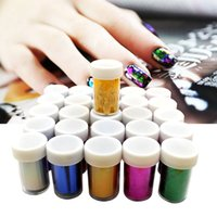 Wholesale colorful nail stickers DIY creative nail art changed universe color laser nail stickers DHL for free I201651608