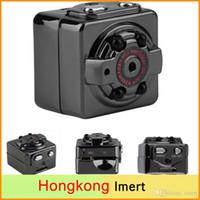 Wholesale Spy SQ8 Mini Camera HD P P Espia DV Voice Video Recorder Infrared Night Vision Digital Small Camera Hidden Camcorder