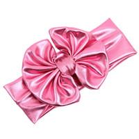 Wholesale Amazing Fashion PC Baby Girls Kids Headband Bow Headwear Children Hair Accessories Colors