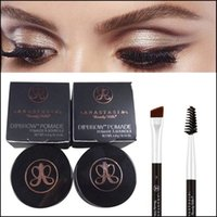 cosmetic eyelash - Anastasia Duo Brow Brushes Eyelash Comb Angled Cut Brush Eyebrow Enhancer Eyebrow Brush Ana Dip Brow Pomade Cosmetics Brush Anastasia Makeup