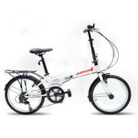 Wholesale latest youth aluminum alloy speed folding bike easy to carry outdoor preferred