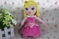 aurora soft toy - 1pcs cm Original Princesses Aurora Plush Dolls Sleeping Beauty Soft Toys High Quality