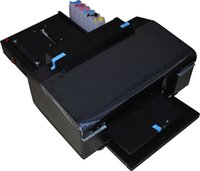 automatic feed - Inkjet ID card printer automatic feeding trays economical PVC card printing easy operation