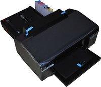 Wholesale Inkjet ID card printer automatic feeding trays economical PVC card printing easy operation