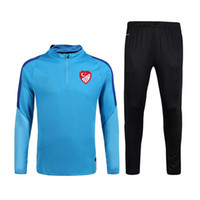 Personnalisation de vêtements en gros 16-17 turc équipe nationale de football maillot jogging pantalons service de formation nationale de football turc q