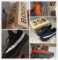 Wholesale With Box Boost V2 Kanye West Season SPLY Boost V2 Shoes Grey Orange Black White Athletic Running Sneaker Boosts For Men Women