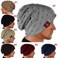 baggy beanie - Winter Warm New Fashion Men Skull Chunky Women Knit Beanie Reversible Baggy Cap Warm Unisex Hat b275