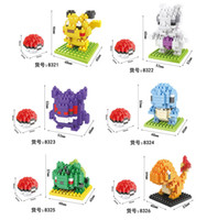 Wholesale new mini series building blocks pocket monsters blocks for big kids patterns set set carton