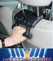 Wholesale New Creative Car Hook Safety Grab Bar Car Seat Headrest Hanger MYY