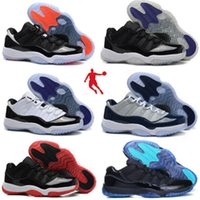Cheap 2016 Best Quality Retro Basketball Shoes Cheap China 11 Men Shoes Sale US Size 7-13 Low to help Many Color For