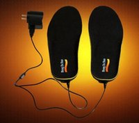 Wholesale USB high quality useful electric heated insoles for boots shoes keep feet warm washable for men and women