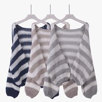 american standard doors - Loose Knitted Sweater Han Guodong door autumn new fashion all match fringe Ma Haimao loose cardigan sweater coat