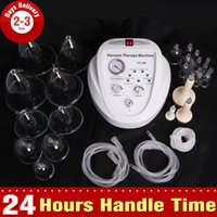 Wholesale New Vacuum Cup Therapy Breast Enhancer Body Massage Shaping Lymph Drainage Spa Skin Rejuvenation Beauty Machine