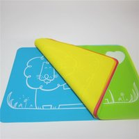 baby heat pad - 40 cm Lion Tableware student Children Table Pad Heat Insulation And Waterproof Square Food Grade Silicone Colors Baby Place Mats