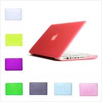 Wholesale 16 Colors Matte Protective Hard Plastic Cover Case For Macbook Air Pro Retina