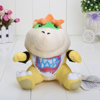 baby bowser plush - New Super Mario Bros cm Bowser JR soft Plush Stuffed Figure Toys plush toy Bowser baby