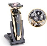 máquina de afeitar eléctrica recargable afeitadora 2015 encabeza la cabeza afeitadora eléctrica de la venta de los hombres de la maquinilla de afeitar Tecnología