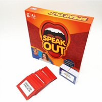 Wholesale 2016 Speak Out Game KTV party game cards for party Christmas gift newest best selling toy A106