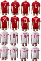 thailand football jerseys - 2016 Euro Switzerland Soccer Jerseys Home Away Thailand Maillot de Football Shirts Shaquri Rodriguez Djourou Xhaka Behrami Inler Lichtsteine