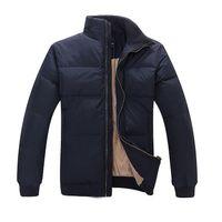 Wholesale 2016 Winter Branding Heavy Keep Warm White Duck Down Jacket Coat Men s Down Jacket Coat