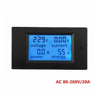 ac gauges - PZEM V2 in meter Voltage Current Power Energy meter Gauge AC V A voltmeter Ammeter Watt Power Meter Tester