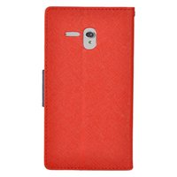 alcatel pink phone - Leather Wallet Case Credit Card Slots Holder Phone Cover Folio Wallet for Alcatel One Touch Elevate E Fierce XL N each color
