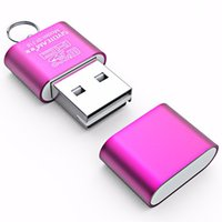 backup data - SIYOTEAM SY T18 SY T18 SYT18 High Speed Mini USB Sim Card Reader For T Flash Micro SD data readers backup