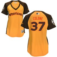 american ray - women American League GOLD All Star Tampa Bay Rays COLOME Jersey size S XL