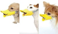 Wholesale Pet Mouth Duck Mouth high quality Anti Bite Dog Mouth Covers Anti called Muzzle Masks Set Bite proof silicone material