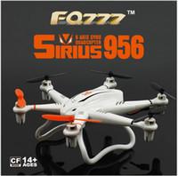 FQ777 956 c 2.4 G télécommande six axes avion avec 2 millions de gyroscope caméra haute définition Les lumières sans pilote véhicule aérien (uav) shi gratuit