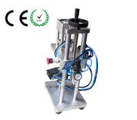 automatic spraying machine - Perfume Liquid Capping Machine perfume Liquid aluminum cap sealer Oral spray head capping machine locking machine