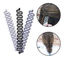 Wholesale Fashion Hair Braiding Braider Tool Roller With Magic hair Twist Styling Bun Maker Hair Braiders for Women Girls